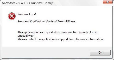 How to remove rundll32 virus