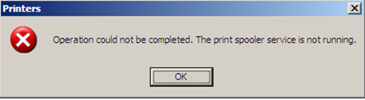 "How to fix ""The print spooler service is not running"" error"