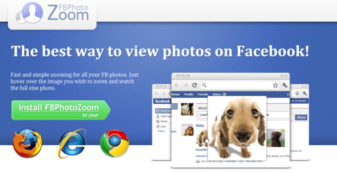 How to remove FB Photo Zoom