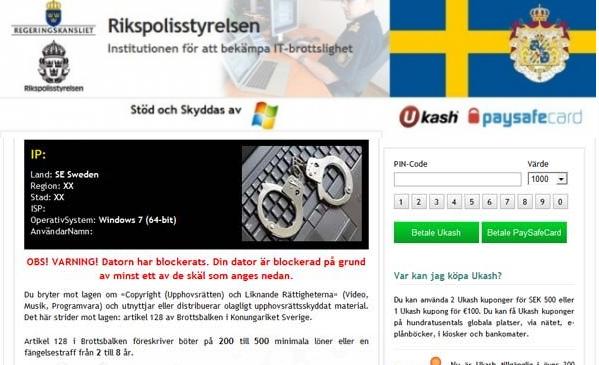 rikspolisstyrelsen block virus