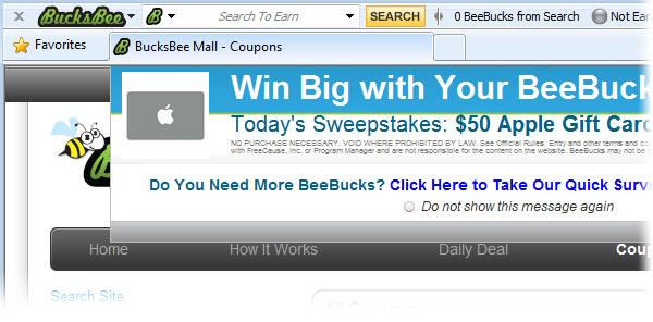 bucksbee toolbar