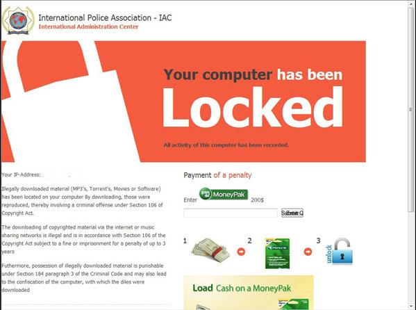 international police association (iac) virus