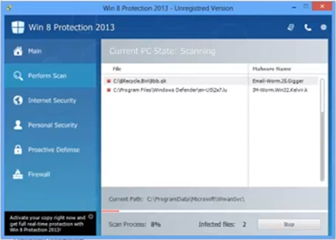 win 8 protection 2013