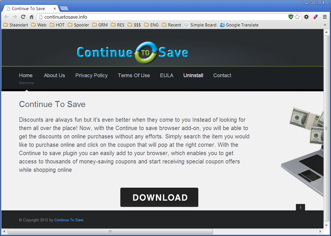 ContinueToSave Removal Tool