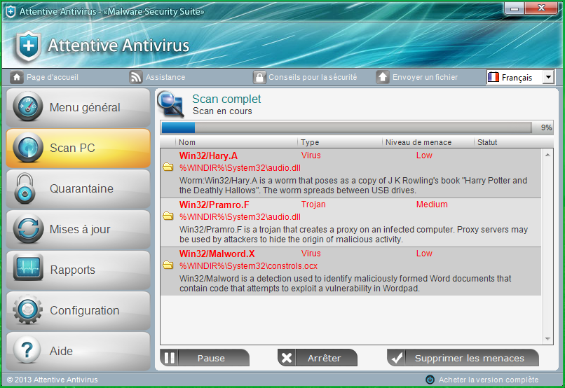 Attentive Antivirus removal instrctions