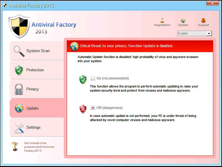 download Antiviral Factory 2013 removal tool