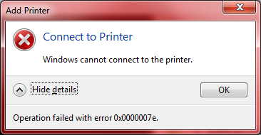 Print spooler keeps stopping in windows 7 error solution