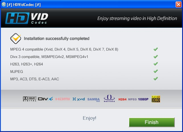 remove HDVidCodec from your PC