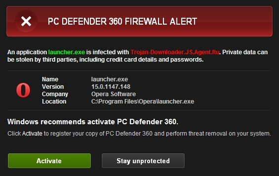 PC Defender 360 removal instructions and removal tools