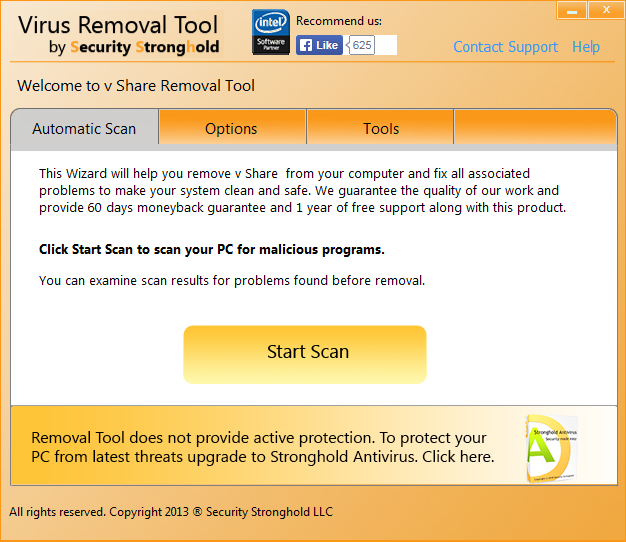 remove vShare with vShare Removal Tool