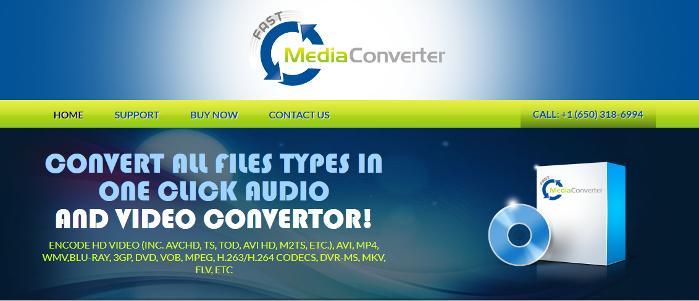 remove Fast Media Converter