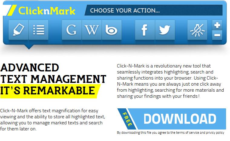 remove Click-N-Mark
