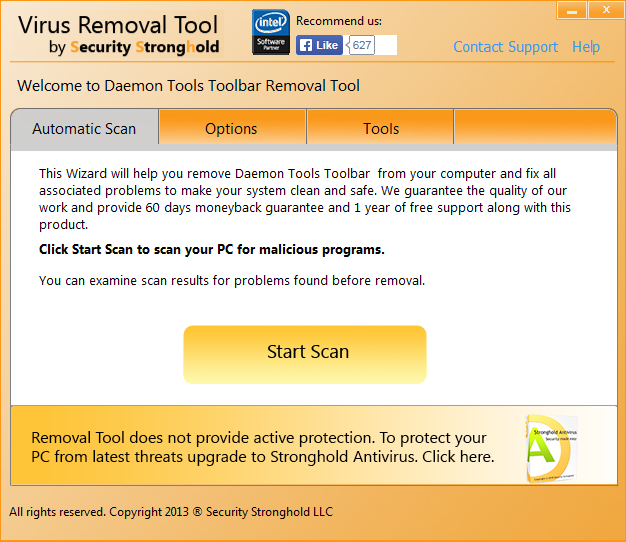 remove Daemon Tools Toolbar with Daemon Tools Toolbar Removal Tool