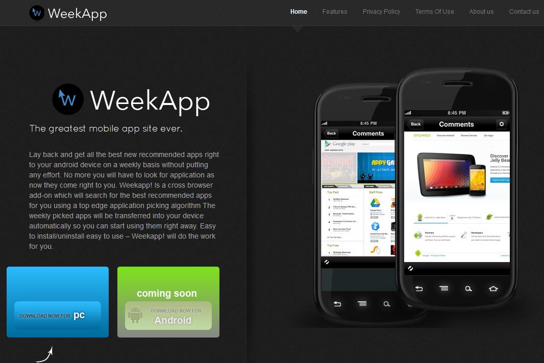 remove WeekApp