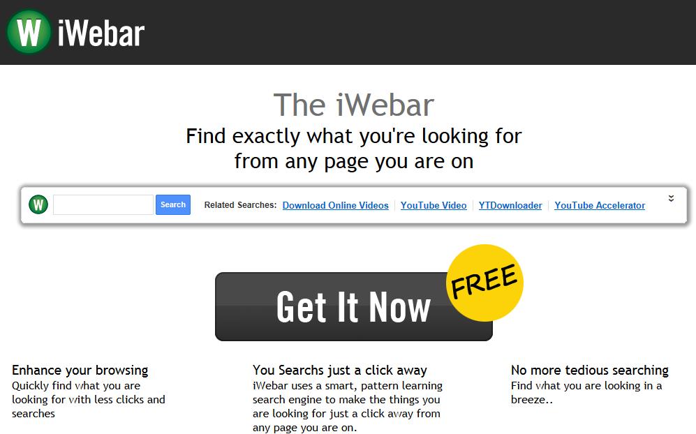 remove iWebar