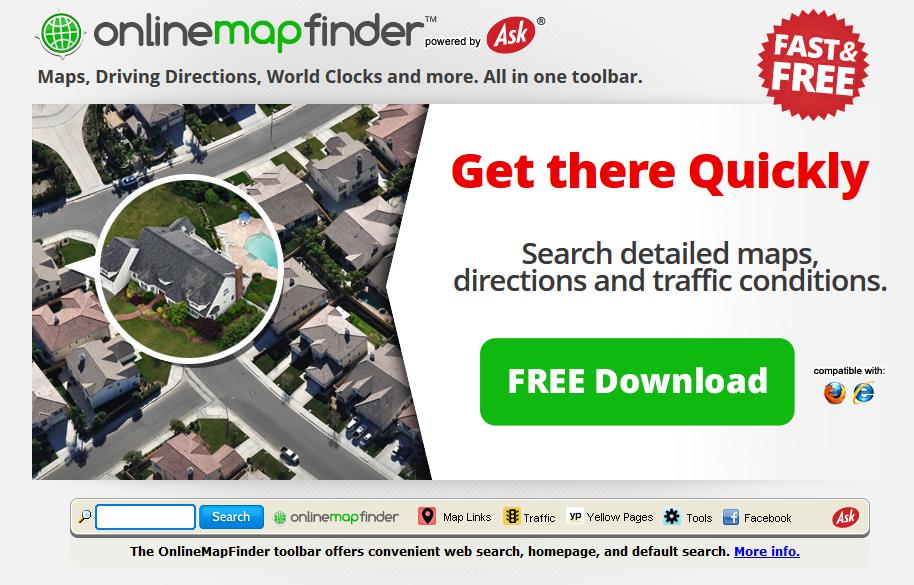 remove OnlineMapFinder