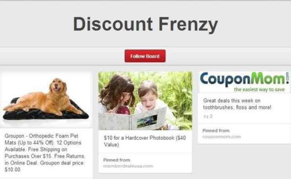 remove Discount Frenzy