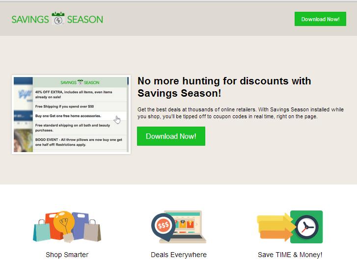 remove Savings Season