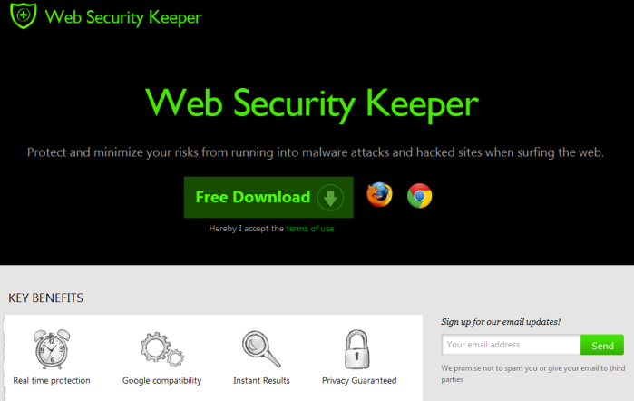 remove Web Security Keeper