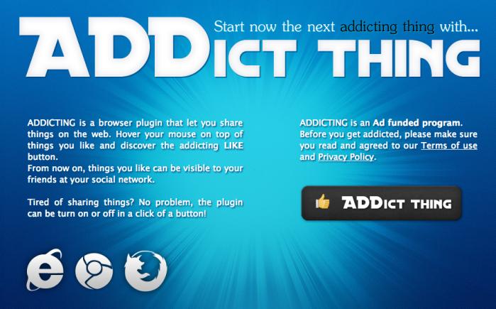 remove Addict Thing
