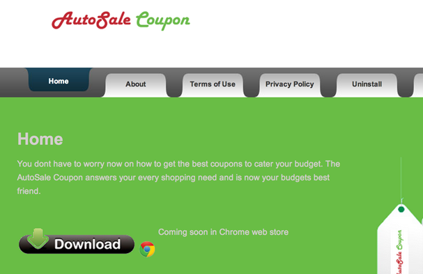 remove AutoSale Coupon