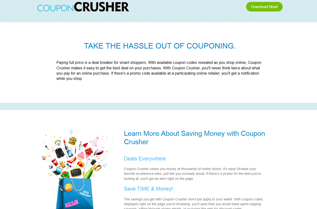 remove Coupon Crusher