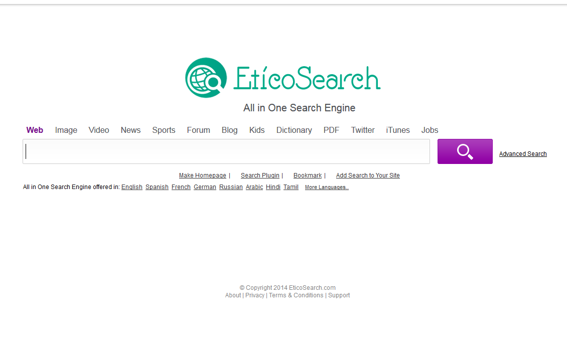 remove Eticosearch.com