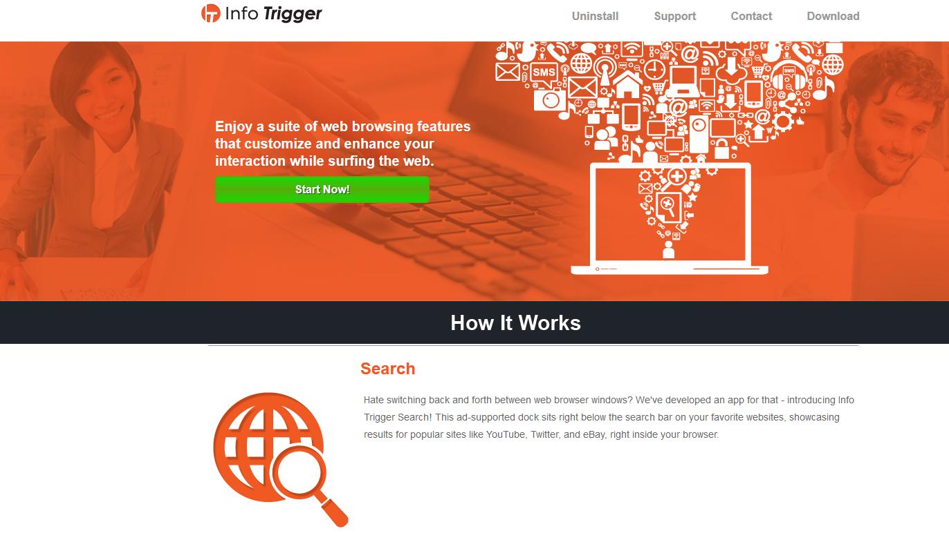 remove Info Trigger