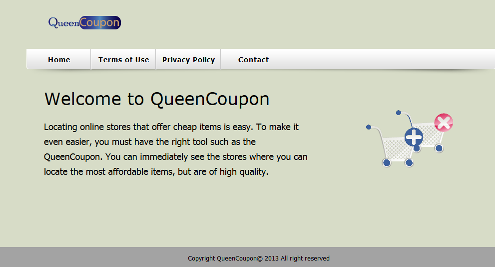 remove QueenCoupon
