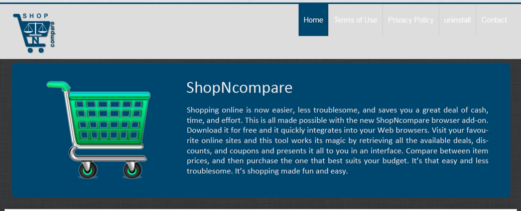 remove ShopNCompare