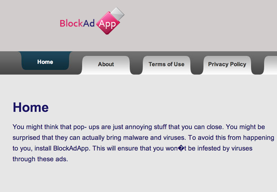remove BlockAdApp