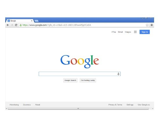 Open Google Chrome to end Websearch.coolsearches.info removal