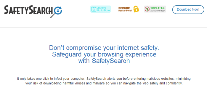 You can remove SafetySearch from your computer