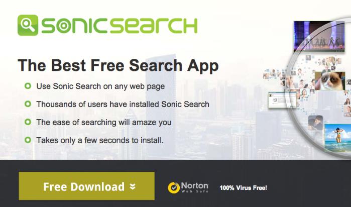 remove Sonic Search