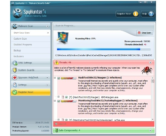 Virus removal software and manual removal instructions that really help