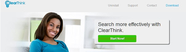 You can remove ClearThink from your computer