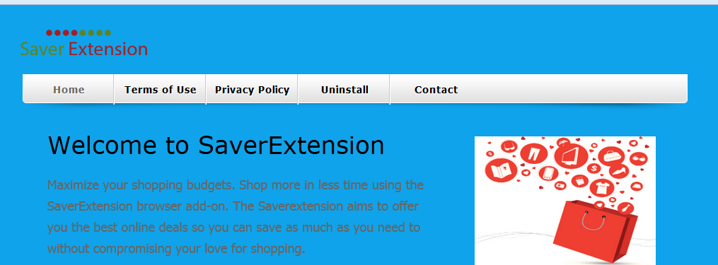 You can remove SaverExtension from your computer