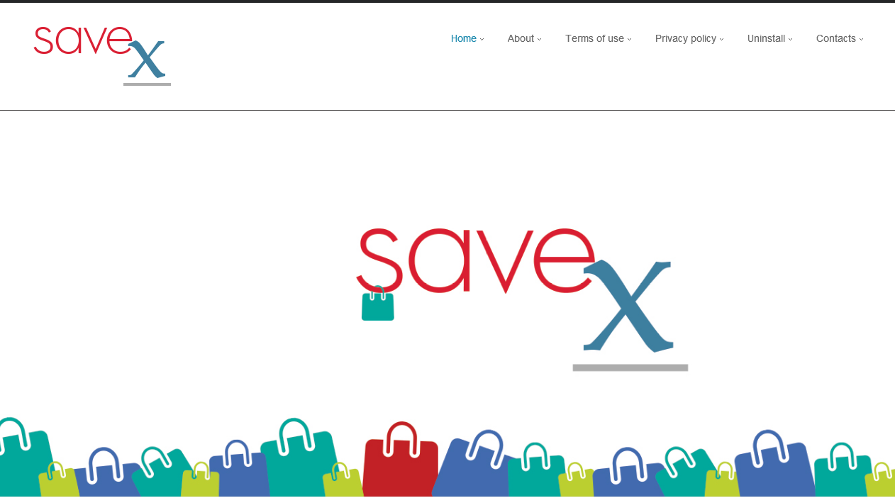 You can remove SaveX from your computer