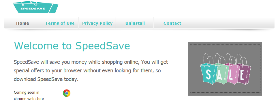 You can remove SpeedSave from your computer