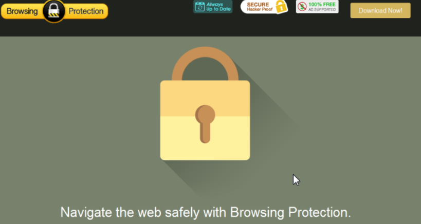 You can remove Browsing Protection from your computer