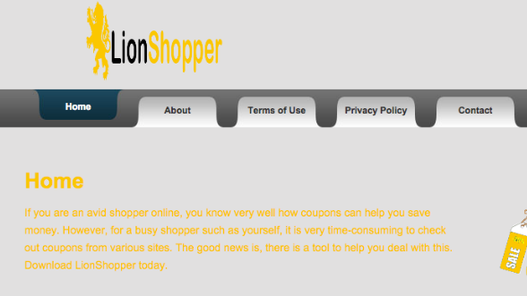 You can remove LionShopper from your computer