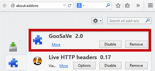 How to remove GoSave
