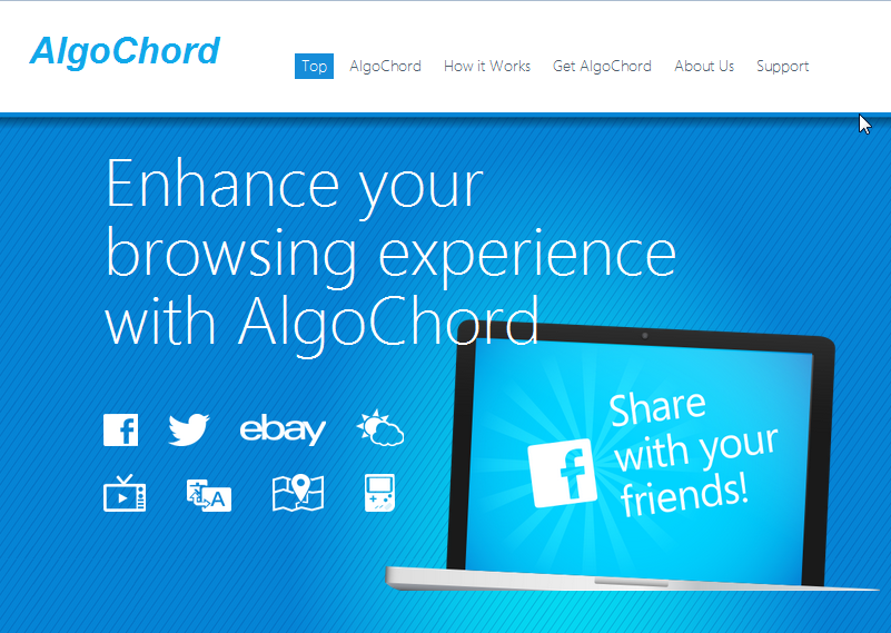 You can remove AlgoChord from your computer