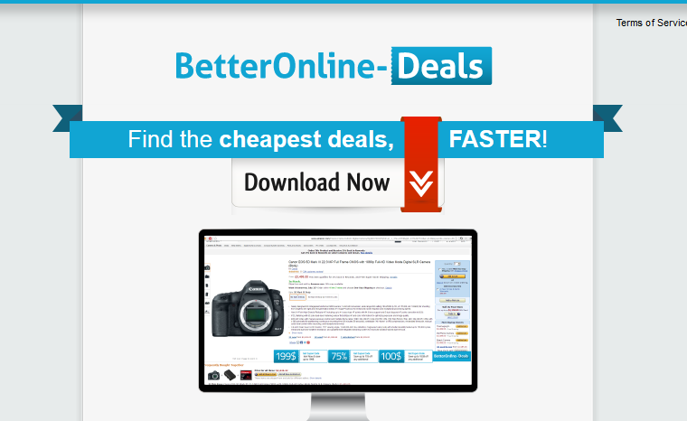You can remove BetterOnlineDeals from your computer