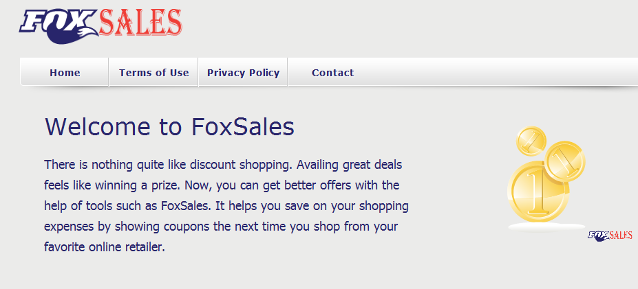 You can remove FoxSales from your computer