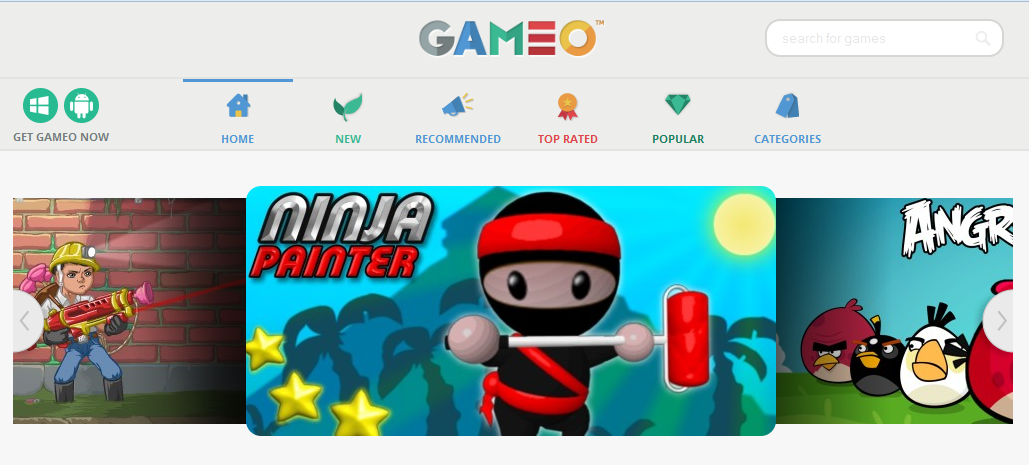 How to remove Gameo