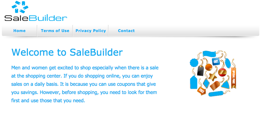 You can remove SaleBuilder from your computer