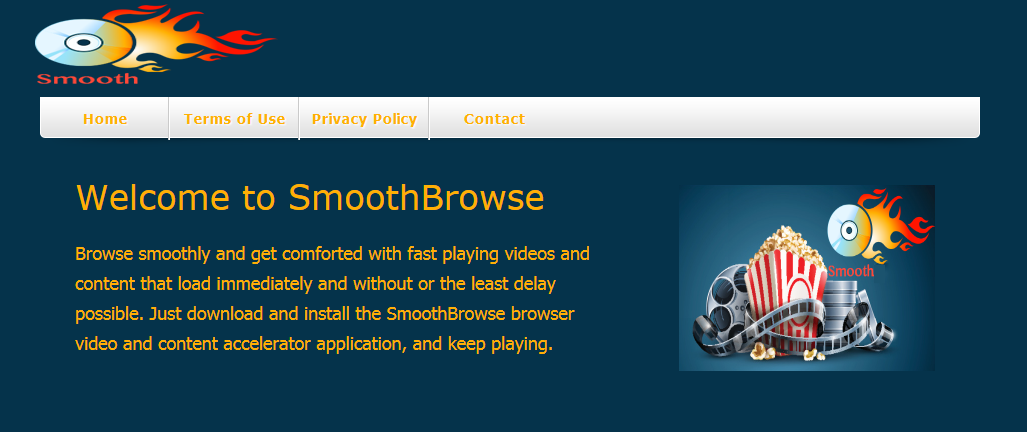 You can remove SmoothBrowse from your computer