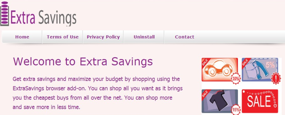 You can remove ExstraSavings from your computer