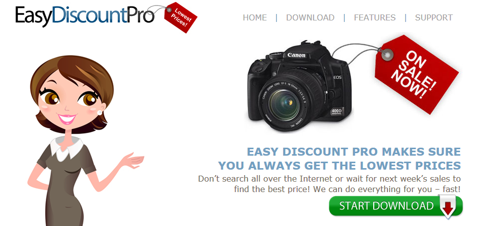 You can remove Easy Discount Pro from your computer